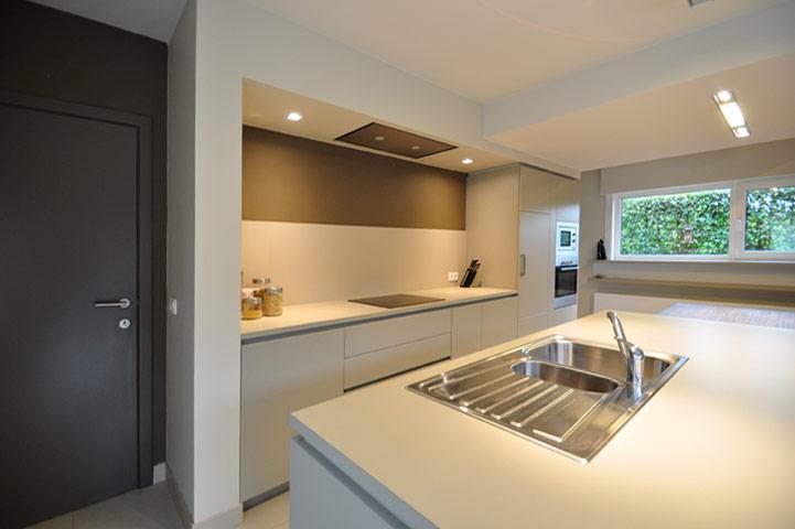 Herinrichting van de keuken en leefruimte for Interieurinrichting